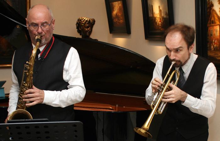 Broekman en Shcherbakov, de blazers van Play it hard.