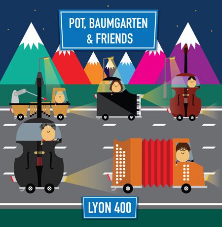 Lyon 400, een cd van Pot, Baumgarten and friends.
