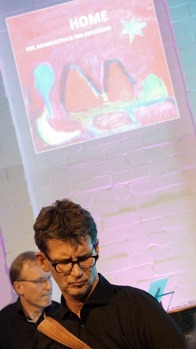 Peter Pot en René van Astenrode in actie.