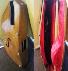 A very practical double bass.