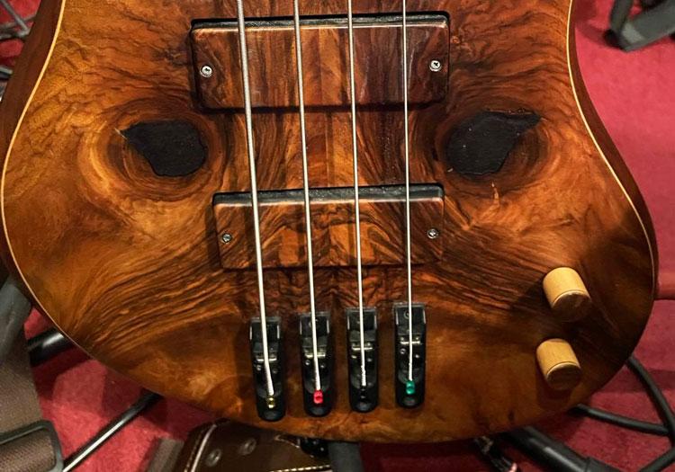 The Bass: bass guitar