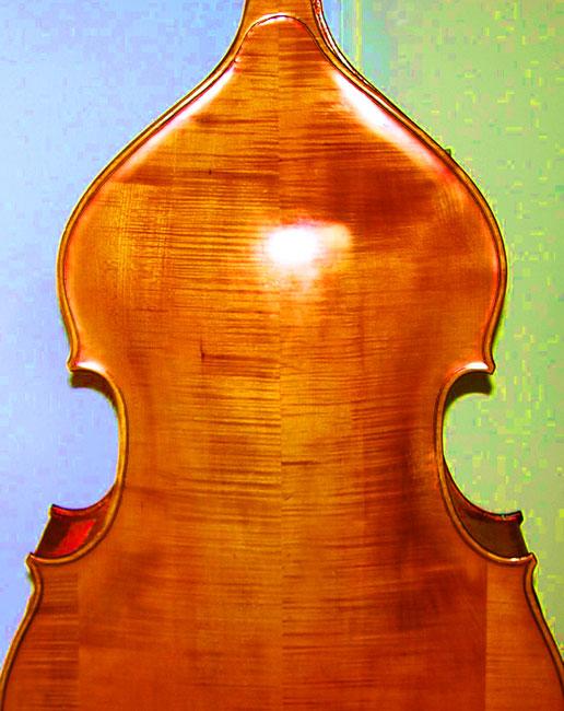 practising: the Baumgarten bass