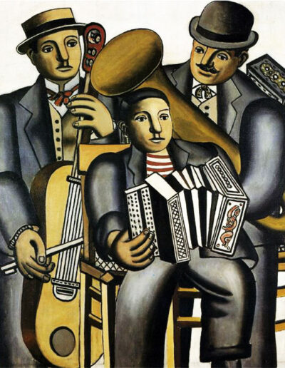 Accordion trio with double bass