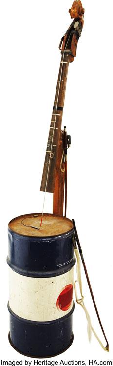 Oil barrel bass